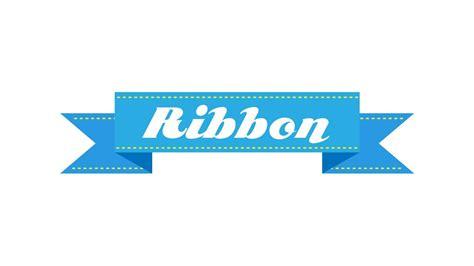 illustrator tutorial     straight ribbon banner youtube