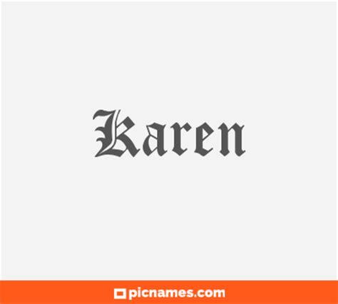 imagenes de letras goticas que digan karen karen en letras g 243 ticas