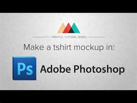 photoshop tutorial create your own custom t shirt design 29 best images about adobe mockups on pinterest make