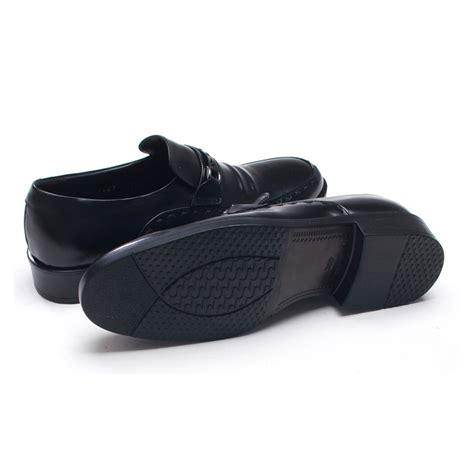 s u line stitch wrinkles loafers