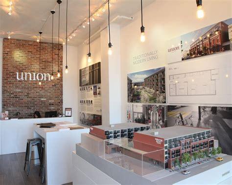 sales office layout marketline sales centre design for anthem properties real estate