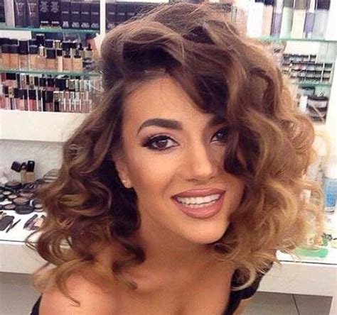 hairstyles and color for short curly hair ombre hair color on short hair the best short hairstyles