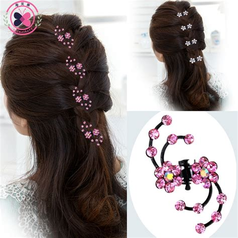 aliexpress buy haimeikang 2017 new fashion 6pcs snowflake hair hair