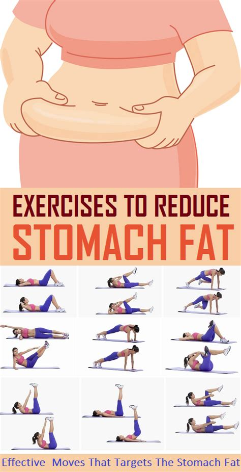 8 simple exercise to reduce stomach weight loss exercise fitness exercise to reduce