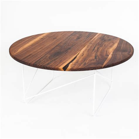 coffee table dark round walnut coffee table design walnut