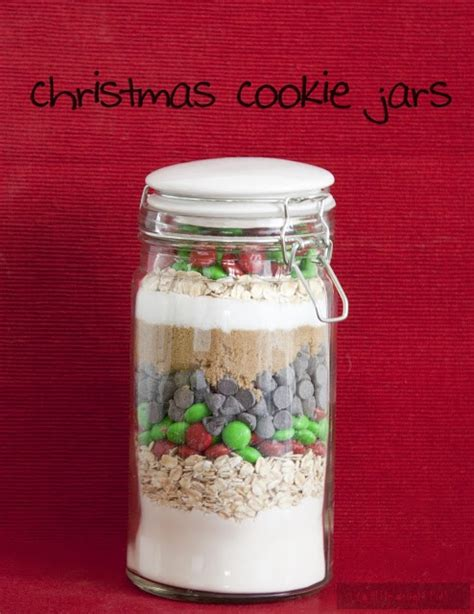christmas cookie jar recipes gift giving pinterest