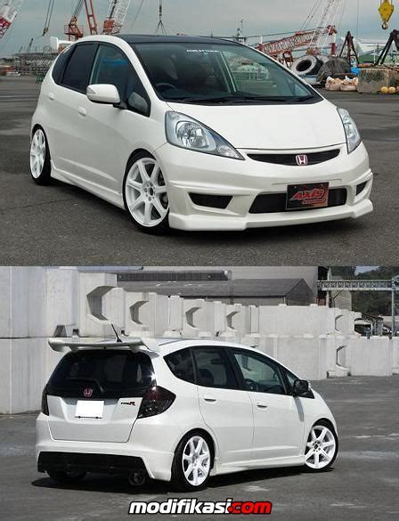Spoiler Mugen With L Grand All New Jazz 2014 warna warni auto bodykit for honda