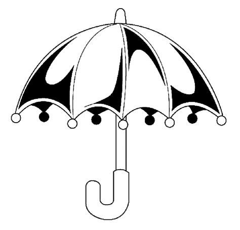 Umbrella Coloring Part 2 Umbrella Coloring Page