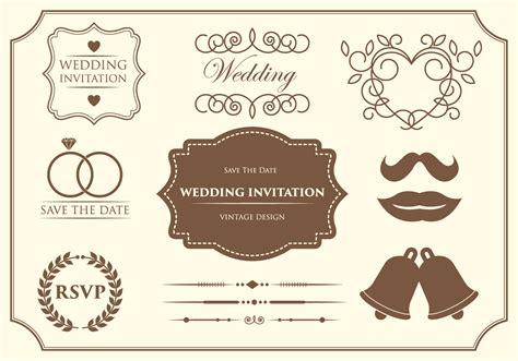 wedding invitation ornaments vector free wedding ornament vectors free vector stock graphics images