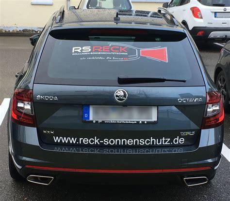 Auto Logo Bekleben by Fahrzeugbeklebung Werbezentrum Bodensee Die Guten