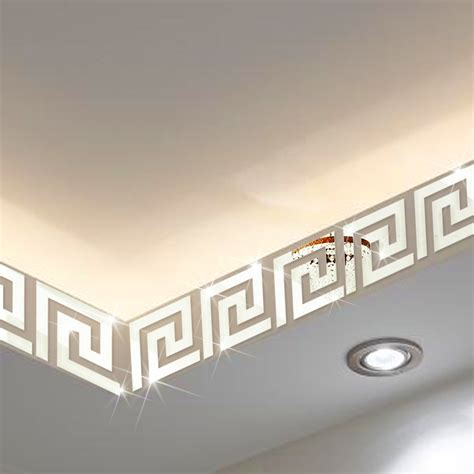 Wall Decoration 10cm X 10cm Togetherness 10 10cm ceiling skirting waistline mirror wall