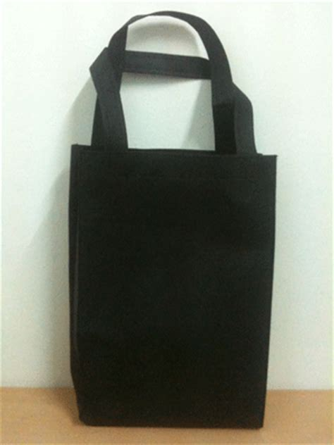 Tas Jinjing Blacu Hitam Tote Bag Blacu Hitam Blacu Hitam tas spunbond goodiebag polos ready stock perdana goodie bag