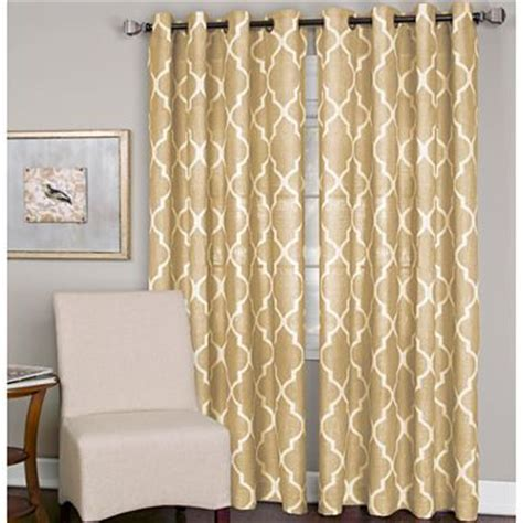 curtain jcpenney elrene medalia grommet top curtain panel jcpenney