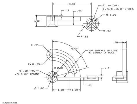 2d cad 2d cad designing fayzan asad
