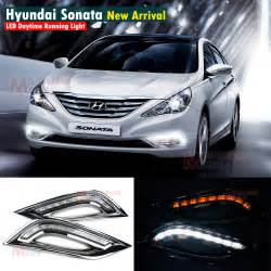 Hyundai Sonata Lights Led Daytime Running Light For Hyundai Sonata I45 Car Fog