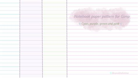 notebook paper pattern notebook paper pattern for gimp by brianditalistina on