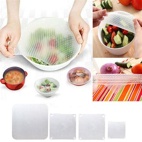 silicone stretch fresh food cling protection