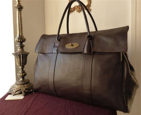 Mulberry Elgin Darwin Bag by Mulberry Piccadilly Large Travel Bag In Chocolate Darwin