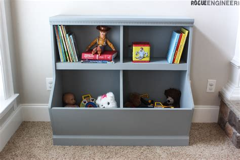 bookcase with toy storage buildsomething com