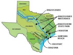 map of brazos river in brazos river map