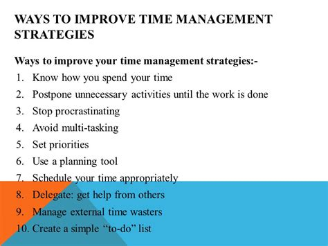 Top 10 Time Management Tips For Every Day by Photos Time Management Strategies At Work Best