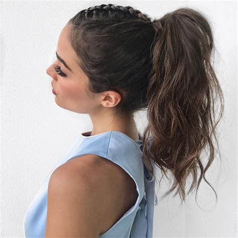Hairstyles Ponytails by 27 Ponytail Hairstyles For 2018 Best Ponytail Styles