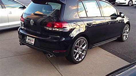 black volkswagen gti volkswagen golf gti 2013 black www imgkid com the
