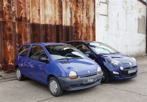 renault twingo 1993 photo comparison 1993 vs 2013 renault twingo