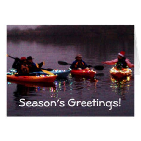 Kayak Gift Card - kayak christmas cards kayak christmas card templates postage invitations