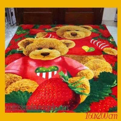 Karpet Karakter Beruang pusat kasur karakter jual matras karakter kasur matras