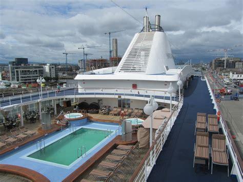 dublin port silver whisper sails into dublin port