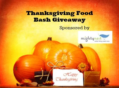 Free Thanksgiving Food Giveaway - 11 25 13 thanksgiving food bash giveaway anchor hocking trueseal collection