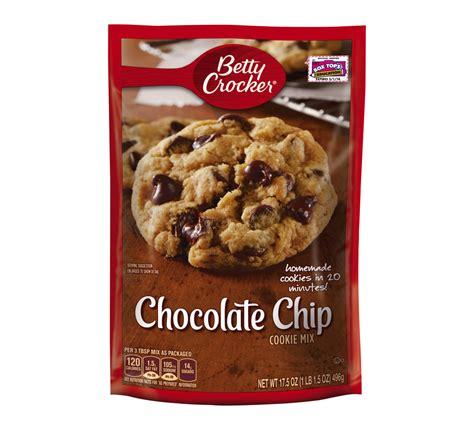 Betty Chocolate 1 betty crocker chocolate chip cookie mix