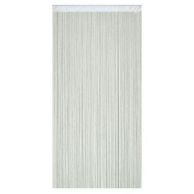 Rideaux Fils Castorama by Rideau De Fils Defil 110 X 240 Cm Coloris Blanc Castorama