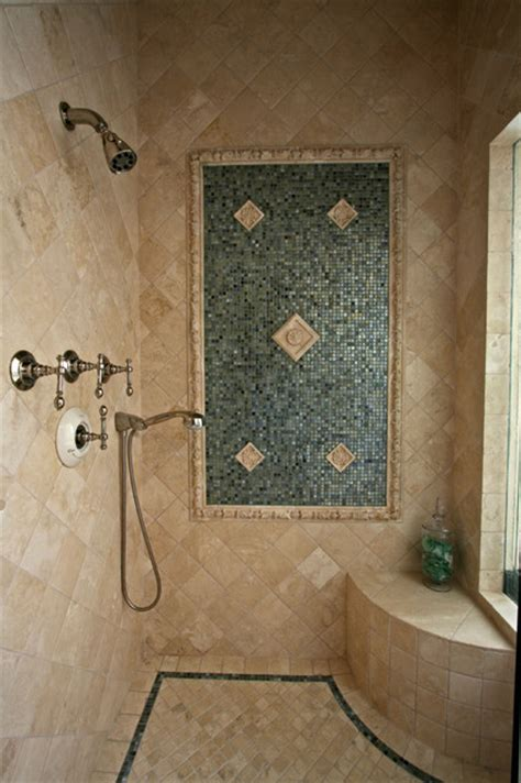 tiled shower ideas for bathrooms tile bathroom shower mediterranean bathroom san diego by steigerwald dougherty inc