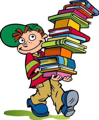 clipart libri news scuola piccolo uomo