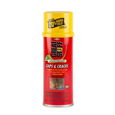 Fireplace Sealant Lowes by Shop Dow Great Stuff Gaps And Cracks 12 Oz Spray Foam