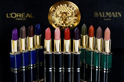 Loreal Balmain loreal balmain lippenstift kollektion swatches
