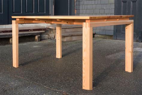 douglas fir dining table douglas fir dining table gesinger furniture