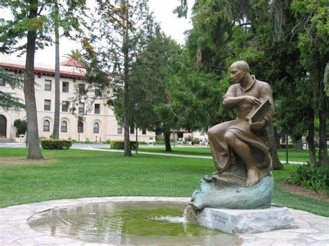 Santa Clara Mba Review by St Ignatius Statue Yelp