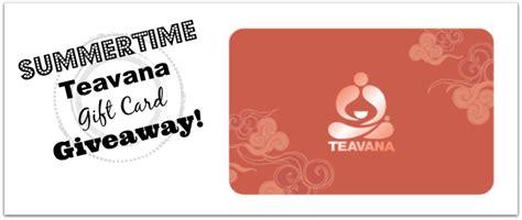Teavana Gift Cards - 50 teavana gift card giveaway