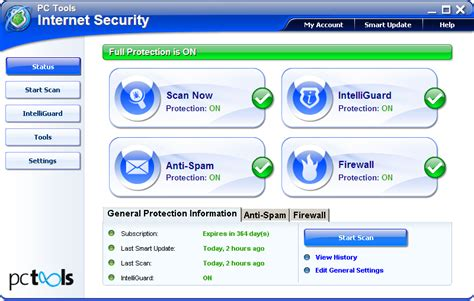 test pc tools security 2010 2011 for windows xp