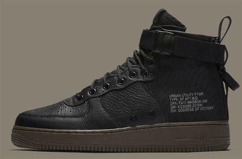 Sepatu Nike As Sf Air 1 Mid Black Hazel Hitam nike sf air 1 mid cargo khaki release date 917753