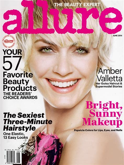 hairshow magazine amber valletta shows off a new haircut for allure magazine