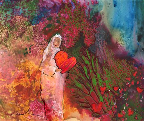 valentines day painting happy s day the of hearts by miki de