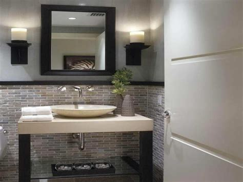 half bathroom design modern half bathroom design bathroom decoration plan