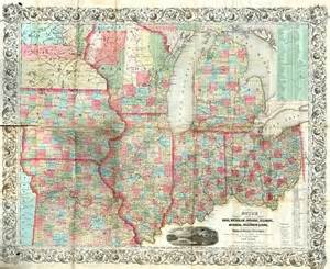 Map Of Indiana And Michigan by Guide Through Ohio Michigan Indiana Illinois Missouri