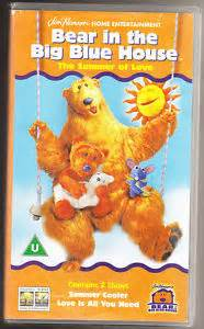 in the big blue house vhs ebay