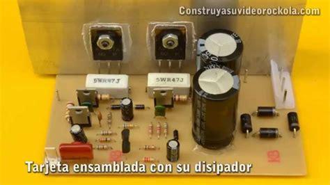 caracteristicas transistor d718 lificador de 100w con transistores pnp