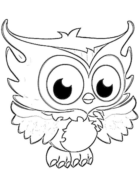 cute owl coloring pages to print owl cartoon coloring pages adultcartoon co